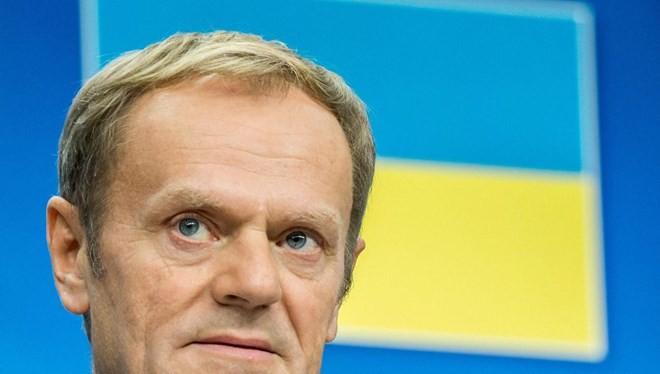 Chủ tịch Hội đồng châu Âu Donald Tusk.