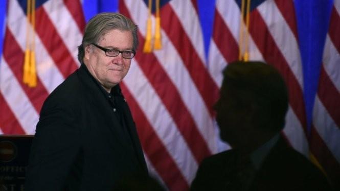 Ông Steve Bannon, cố vấn thân cận của tổng thống Mỹ Donald Trump - Ảnh: Reuters.