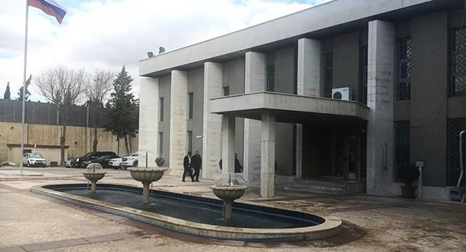 Đại sứ quán Nga tại Damascus, thủ đô Syria. (Nguồn: Sputnik)