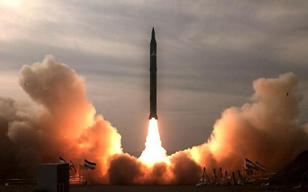 Một vụ phóng tên lửa đạn đạo của Iran (ảnh minh họa)
