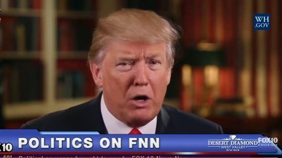 Ông Trump đọc diễn văn hàng tuần, nhấn mạnh chỉ người yêu Mỹ mới được vào Mỹ