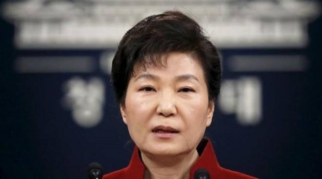 Tổng thống Hàn Quốc bị luận tội Park Geun-hye. (Nguồn: indianexpress.com)