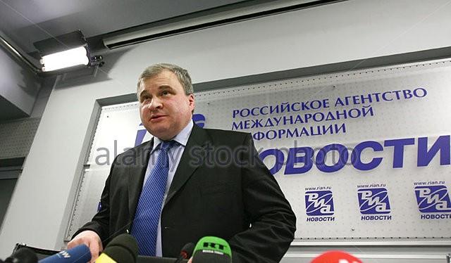 Đại sứ Nga tại Trung Quốc - Andrei Denisov (ảnh tư liệu)