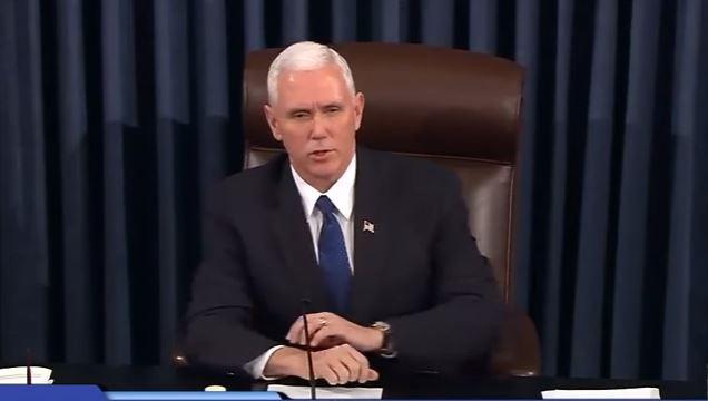 Phó Tổng thống Mỹ Mike Pence phá thế hòa trong Thượng viện