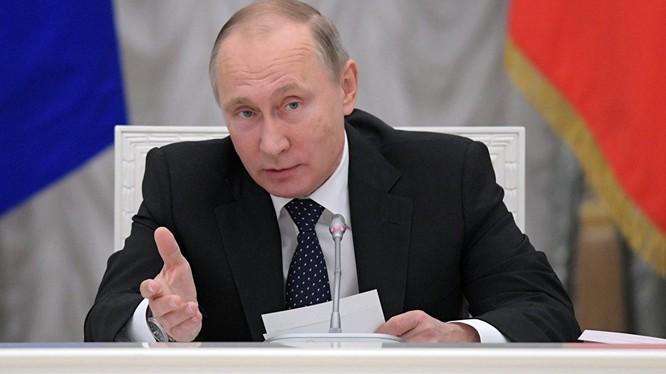Tổng thống Putin: Tương lai tuyệt vời của nước Nga là điều tất yếu