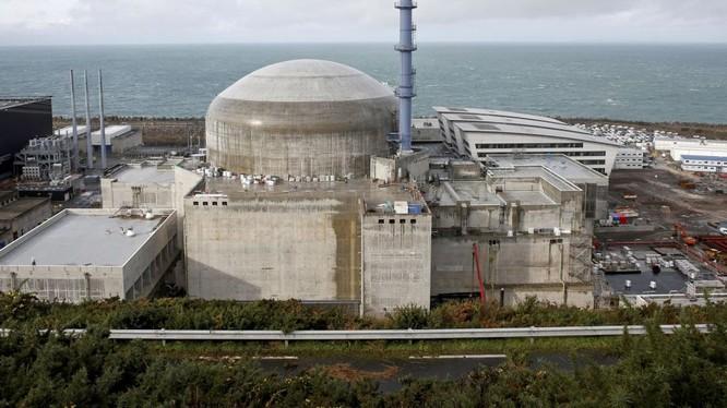 Nhà máy điện hạt nhân Flamanville.