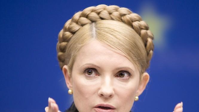 Bà Tymoshenko bác thông tin nói bà phải chờ ông Trump gần nhà vệ sinh