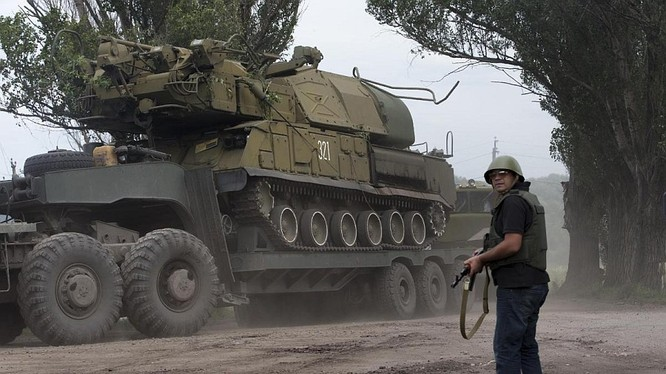 Ukraine sẽ tập trận bắn thử tên lửa Buk-M1 gần bán đảo Crimea