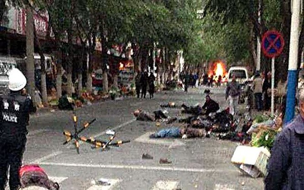 Tấn công bằng dao ở khu tự trị Tân Cương, 8 người thiệt mạng