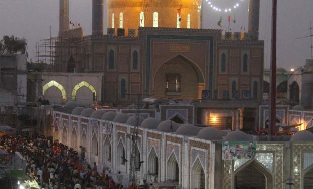 Đền Lal Shahbaz Qalandar (ảnh minh họa)