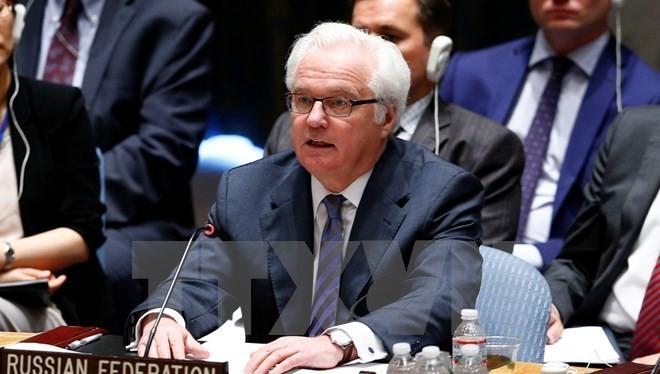 Đại sứ Nga tại Liên hợp quốc Vitaly Churkin