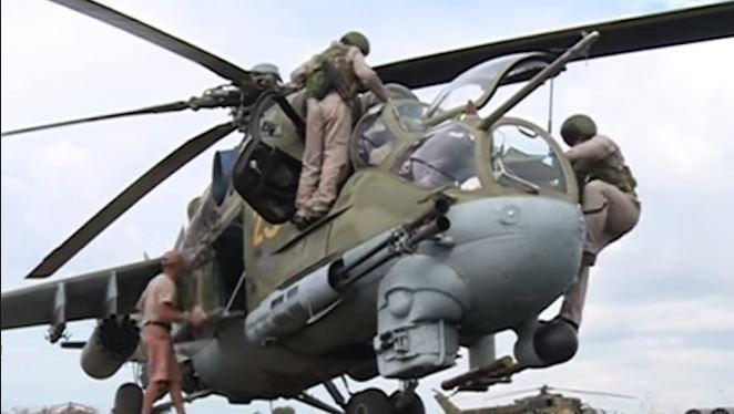 Ảnh minh họa (quân đội Nga ở Syria)