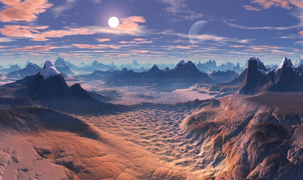 NASA phát hiện ba hành tinh có thể phù hợp với sự sống của con người (ảnh minh họa)