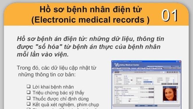TP.HCM thực hiện hồ sơ sức khỏe điện tử tạo thuận lợi cho việc khám chữa bệnh. Ảnh: Internet