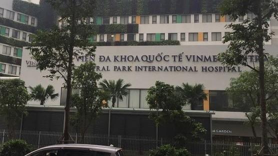 Bệnh nhân Trung Quốc tại BV Vinmec Central Park âm tính với virus Corona. Ảnh: XM