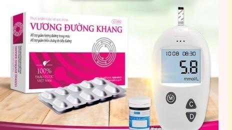 Thực phẩm bảo vệ sức khỏe Vương Đường Khang. Ảnh: Internet