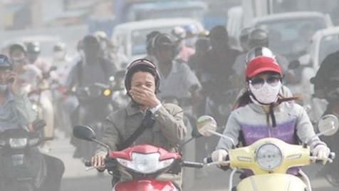 Nhiều khoảng thời gian trong năm, các thành phố lớn ở Việt Nam bị ô nhiễm không khí nghiêm trọng. Ảnh: Dân Sinh