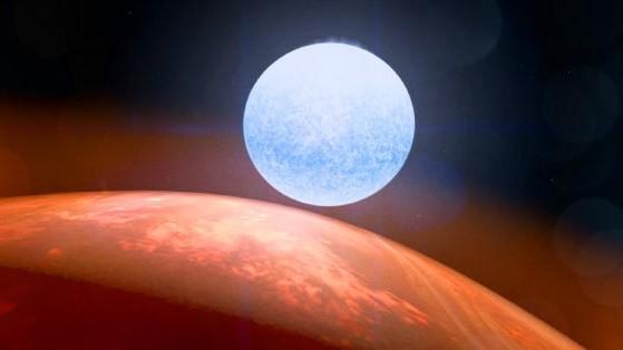 Hành tinh thú vị có 2 mùa hè và 2 mùa đông. Ảnh: NASA