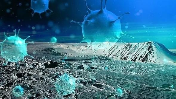 Cảnh báo nguy cơ virus cổ xưa hồi sinh do băng tan. Ảnh: Internet