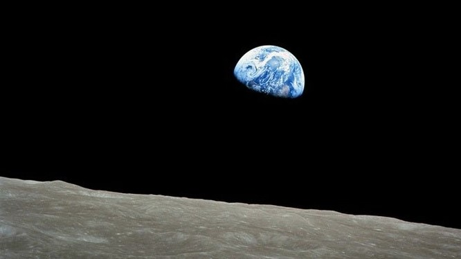 Mặt Trăng có nguồn gốc từ đâu vẫn là vấn đề các nhà khoa học lưu tâm. Ảnh: NASA