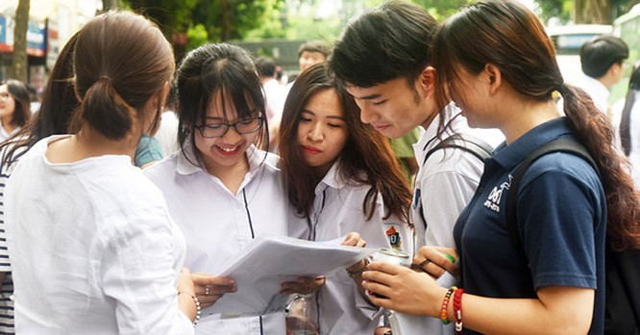 Kỳ thi tốt nghiệp THPT 2020 diễn ra an toàn, đúng quy chế. Ảnh: Internet