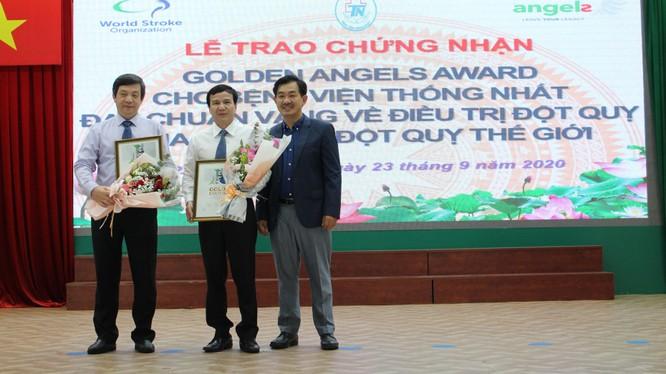 Bệnh viện Thống nhất đạt chứng nhận tiêu chuẩn vàng của Hội Đột quỵ Thế giới (WSO). Ảnh: BVCC