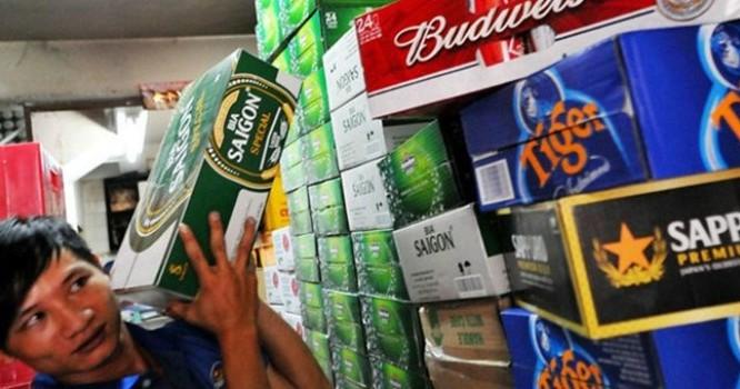 Giá bia, rượu, nước giải khát đã tăng