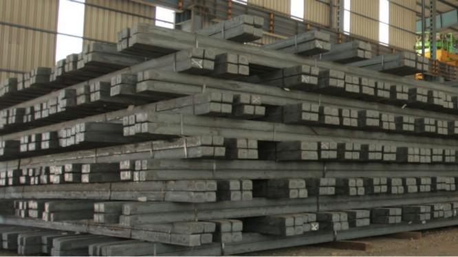 Việt Nam mới chỉ dùng một loại phôi thép duy nhất là phôi vuông để cán thép xây dựng (thép thanh, thép dây) và thép hình nhỏ (thép U,I)