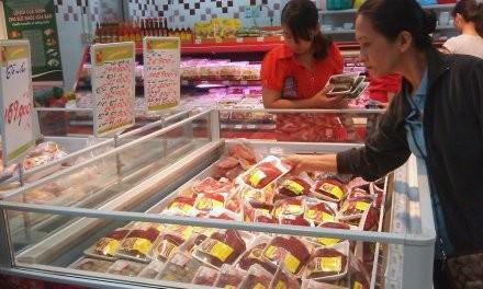 Nhập khẩu bò Úc tăng mạnh vào dịp tết