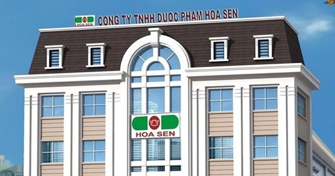 Công ty Dược phẩm Hoa Sen đang khá nổi tiếng trên thị trường với nhiều sản phẩm