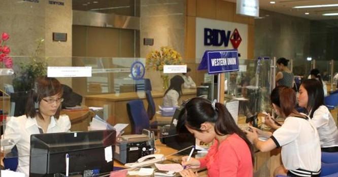 Hoạt động nghiệp vụ tại BIDV