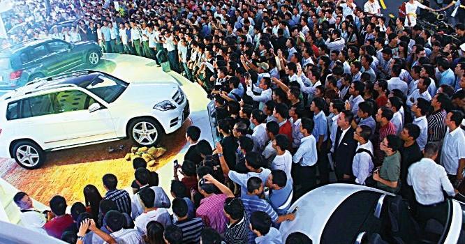 Cận Tết doanh số bán ô tô tăng đột biến