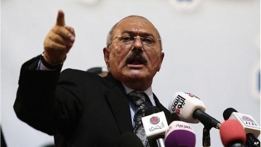 """Cựu tổng thống Yemen """"tích lũy 60 tỉ USD tài sản"""""""