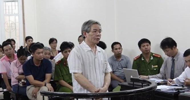 Cựu phó Tập đoàn Nam Cường tại phiên xử