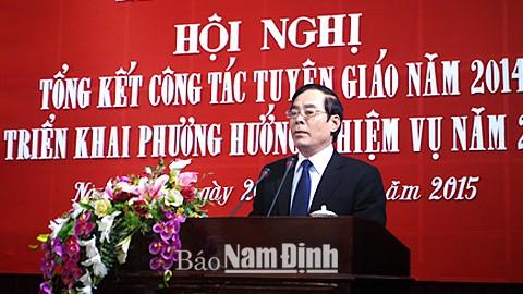 Ông Nguyễn Khắc Hưng là Bí thư Tỉnh ủy Nam Định