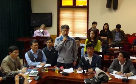 CQĐT Công an Hà Tĩnh đã có thông báo cấm xuất cảnh đối với 24 cán bộ 24 cán bộ, nhân viên Văn phòng Công ty Sam Sung C&T Việt Nam tại công trường Formosa, trong đó có có ông Chin Hyeng Ha, Giám đốc Văn phòng dự án