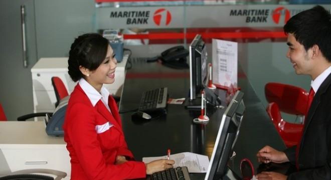 Maritime Bank: Năm 2014 tăng trưởng tín dụng âm 14,2%, lợi nhuận giảm hơn một nửa