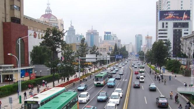 Thành phố Côn MInh là thủ phủ tỉnh Vân Nam, một trung tâm kinh tế quan trọng của Trung Quốc