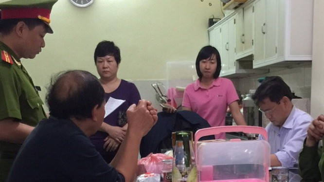 Cơ quan điều tra khám xét đối với Phan Thị Kim Chi