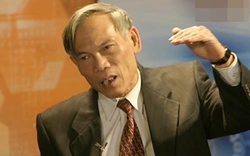 Nguyên Bộ trưởng Bộ Thương mại Trương Đình Tuyển.