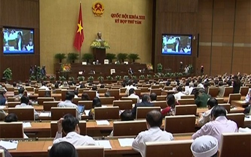 Một phiên thảo luận tại kỳ họp Quốc hội vừa qua về Luật Ngân sách Nhà nước.