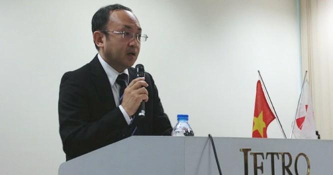 Ông Atsusuke Kawada, Phó Chủ tịch Hiệp hội Doanh nghiệp Nhật Bản tại Việt Nam