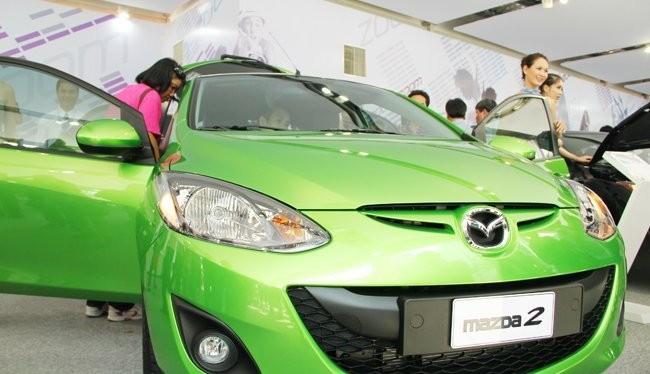 Các dòng xe du lịch thương hiệu Mazda do Thaco lắp ráp -sản xuất đã góp phần tăng thị phần chung của Thaco trong 3 tháng đầu năm nay