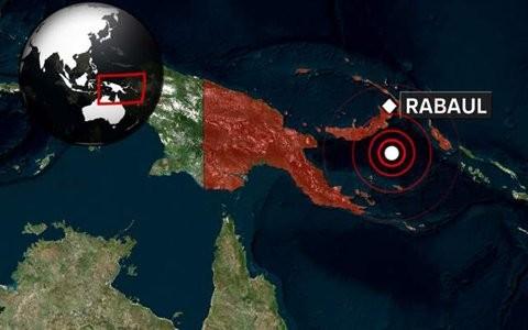 Động đất 7,1 độ richter ở Papua New Guinea