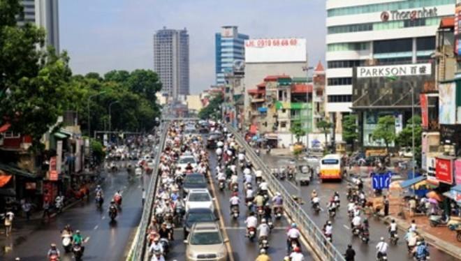 Bắt đầu thu phí sử dụng đường bộ theo đầu phương tiện ở TP HCM