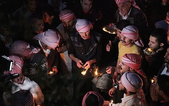 300 con tin của tộc người Yazidi bị hành quyết hôm 1-5. Ảnh: AP