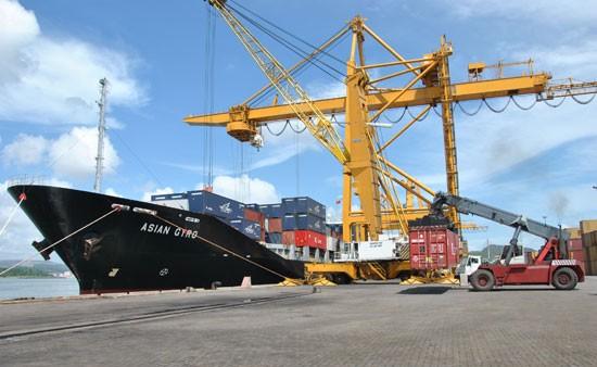 Một góc cảng Quảng Ninh, nơi Vinalines đề xuất bán hết vốn nhà nước cho tập đoàn T&T