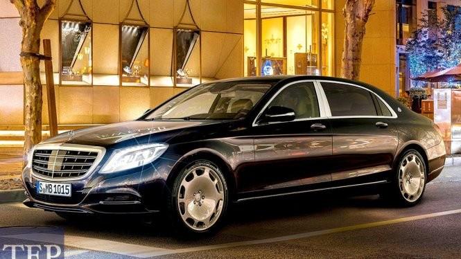 10/50 chiếc Mercedes-Maybach S600 trên toàn cầu là dành cho giới siêu giàu Việt