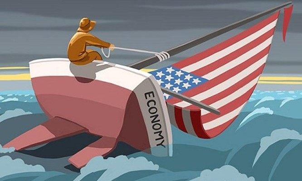 Nền kinh tế Mỹ đang vấp phải sự cố giống tàu Titanic