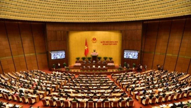 Quốc hội nghe Báo cáo về Điều 60 Luật Bảo hiểm xã hội